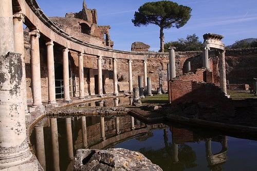 villa adriana la roma antigua