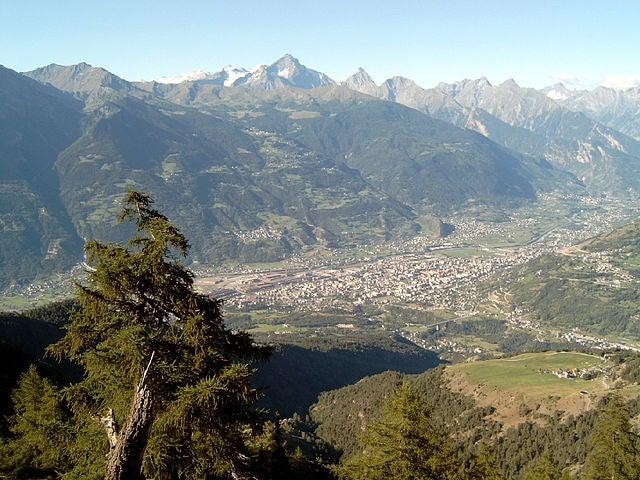 La ciudad de Aosta, legado de Roma en los Alpes Italianos