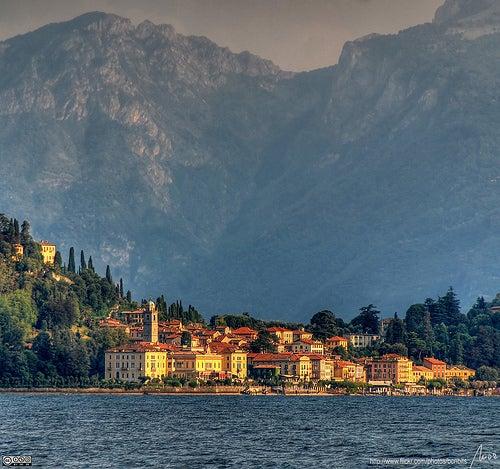 Bellagio en Italia, la perla del lago Como