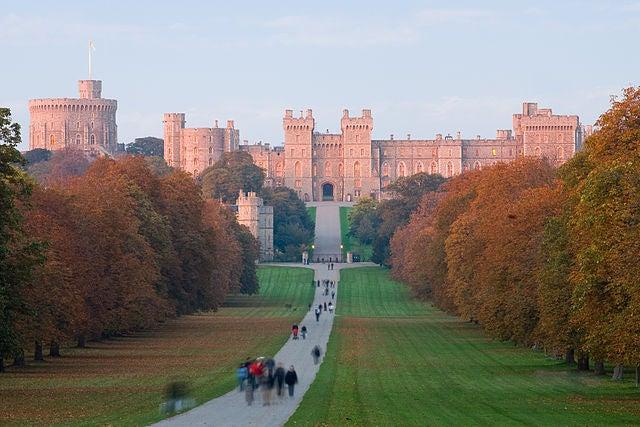 El castillo de Windsor, el más grande del mundo
