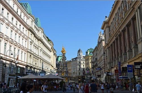 Recorremos el centro histórico de Viena