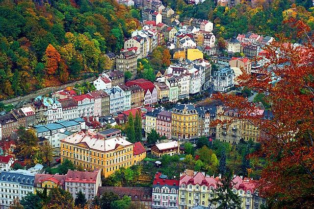 La ciudad balneario Karlovy Vary, un placer para los sentidos