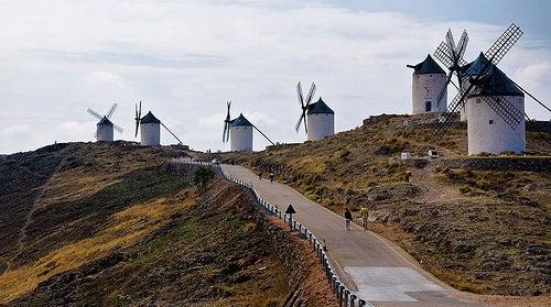 molinos viento de la mancha