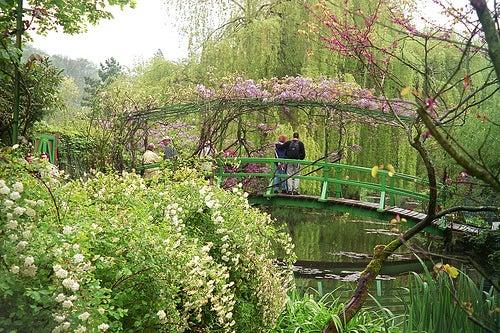 puente japonés jardines de monet