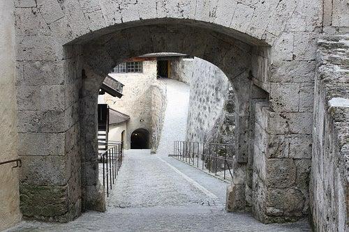 puerta de la muralla de kufstein
