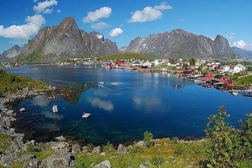 Reine en Noruega, uno de los pueblos más bonitos del país
