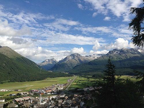 Un lugar llamado Samedan, un paraíso en los Alpes suizos