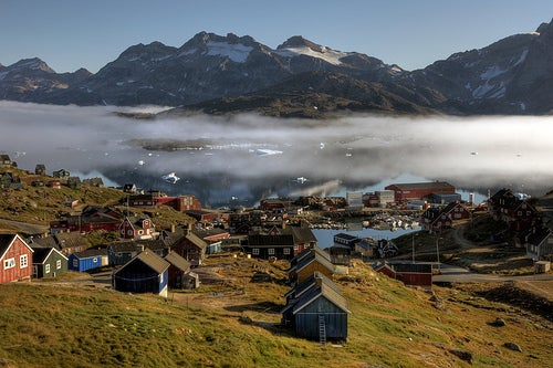 Viajemos a la recóndita Groenlandia
