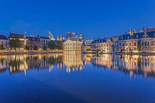Recorremos la ciudad de La Haya en los Países Bajos
