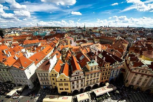 La ciudad de Praga, una pieza de historia en cada rincón