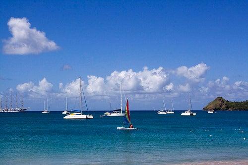 La isla Santa Lucía exuda exotismo caribeño
