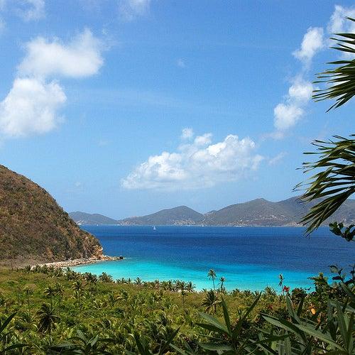La isla Tórtola, la más grande de las Islas Vírgenes Británicas