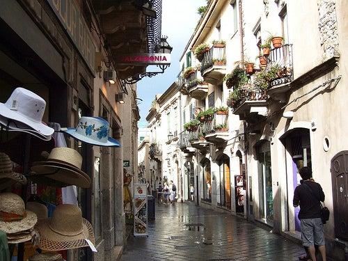 calles de taormina