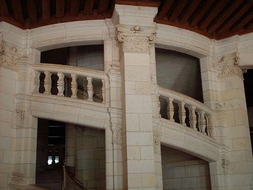 escalera castillo chambord