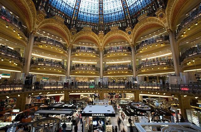 Voilà, hoy vamos de compras por París.