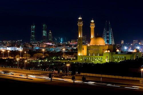 La impresionante ciudad de Manama en Bahréin