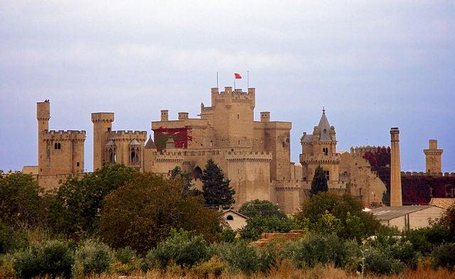 El Palacio Real de Olite,  Maravilla Medieval de España
