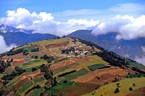 Las hermosas montañas de Mérida en Venezuela