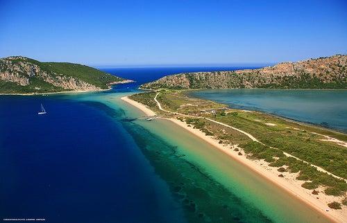 Las espectaculares playas de Mesenia en Grecia