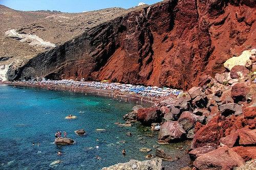 Playas de Santorini 3