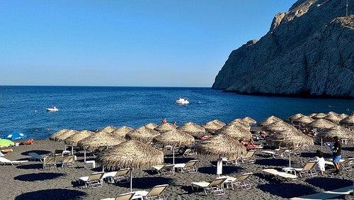 Playas de Santorini 4