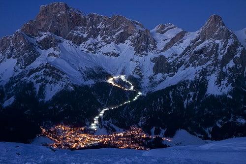 San Martino di Castrozza, una bella localidad en los dolomitas de los Alpes italianos