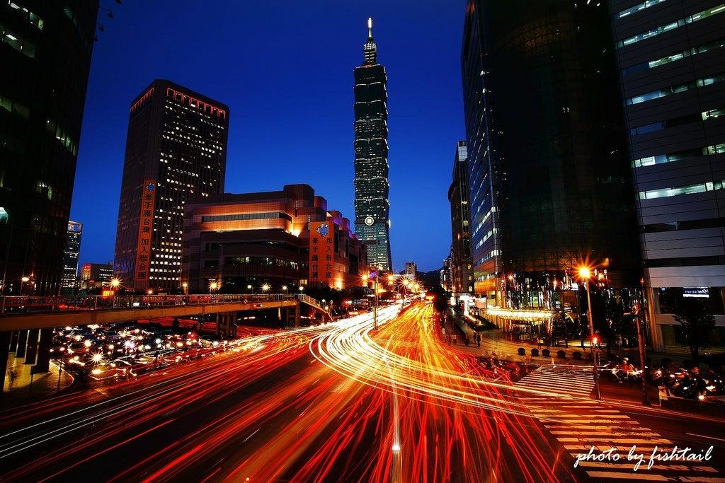 La colorida y deslumbrante ciudad de Taipei en Taiwán