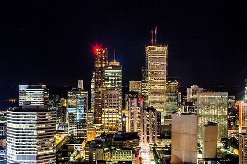 La espléndida y sofisticada ciudad de Toronto en Canadá