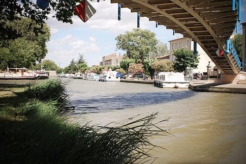 Canal du Midi : Homps