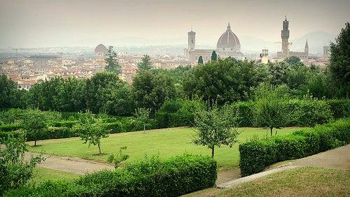 El espectacular jardín de Bóboli en Florencia