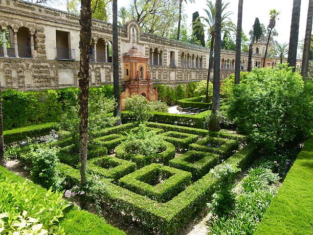 jardines reales alcazares sevilla 3