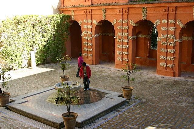 jardines reales alcazares sevilla 4