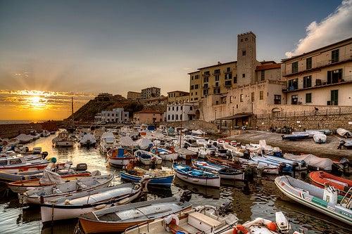 Livorno en la Toscana, la ciudad de los canales