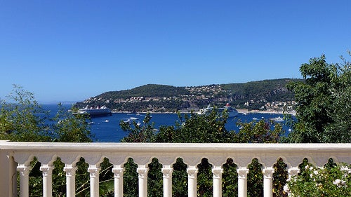 vistas desde la villa