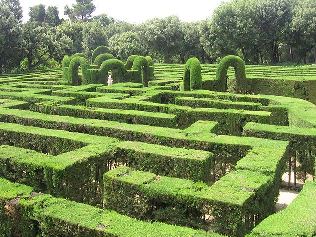 El parque del Laberinto de Horta, el jardín más antiguo y bello de Barcelona