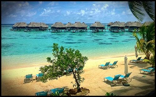 La isla Moorea en la Polinesia Francesa es un lugar encantador