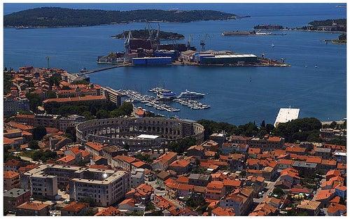 Pula en Croacia, una joya a orillas del Mar Adriático