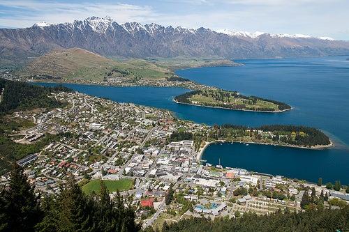 Queenstown en Nueva Zelanda es naturaleza pura