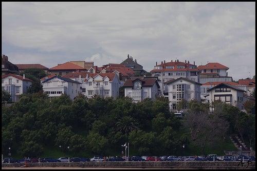 La bella ciudad costera de Santander en España
