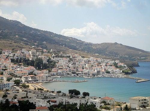 La isla de Andros en Grecia, todo un paraíso natural