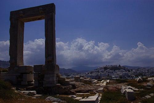 La maravillosa isla griega de Naxos y la gran puerta de Apolo