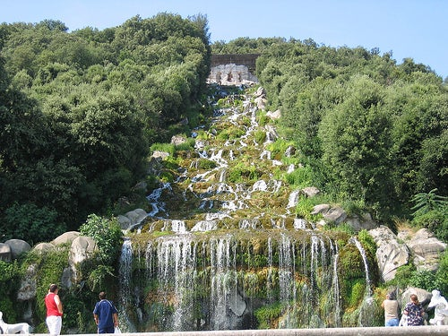 jardines palacio real de caserta 5