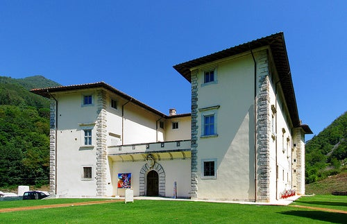 El palacio de Seravezza, palacio Medici y Museo en la Toscana