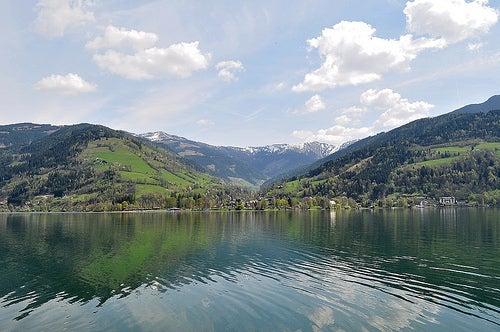 La idílica ciudad de Zell am See en Austria, la naturaleza en su máxima expresión