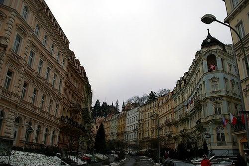 Karlovy Vary en República Checa, una ciudadfuera de serie