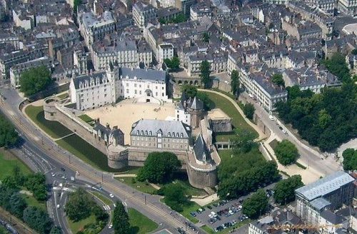 El castillo de los Duques de Bretaña, el monumento estrella de Nantes en Francia