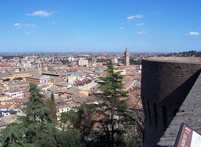 La bella ciudad de Cesena en Italia y el legado de la familia Malatesta