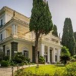 palacio achilleion en la isla de corfu