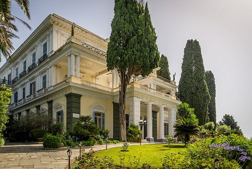 El Achilleion en la isla de Corfú, el palacio preferido por la emperatriz Sissi