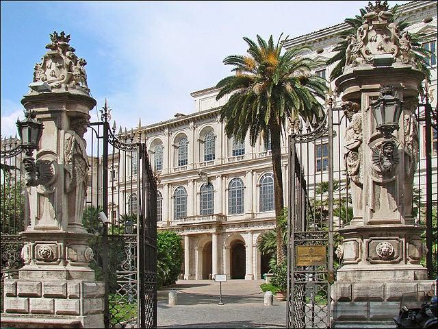 El palacio Barberini en Roma, toda una obra de arte de gran esplendor